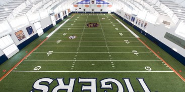 AUBURN UNIVERSITY INDOOR FOOTBALL PRACTICE FACILITY